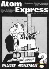 Atom Express 21, Juli/August 1980