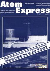 Atom Express 24, Mai 1981