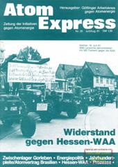 Atom Express 25, Juli/August 1981