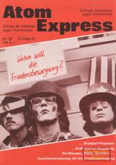Atom Express 26, Oktober 1981
