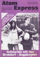 Atom Express 27, Dezember 1981/Januar 1982