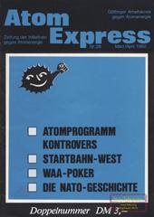 Atom Express 28, März/April 1982