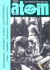 Atom, Nr. 8, März/April 1986; Sicherheitsgesetze, Wackersdorf, Sexismus, Anti-NATO-Kongress, Wendland, Grüne, Atomexporte