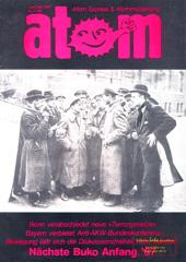 Atom, Nr. 13, Januar/Februar 1987; Kriminalisierung, Atomfabrik Hanau, Wackersdorf