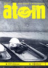 Atom, Nr. 22, Sommer 1988; Mexiko; Hamburger Hafen-ein atomare drehscheibe; Staatsgewalt in Wackersdorf; Hamburger Ausstiegspolitik; Wendland