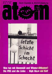 Atom, Nr. 33, Dezember 1990; Morsleben ersatz fuer Konrad?, Atomenergie in der CSFR, Parlamente und Parteien, High-Noon am Golf