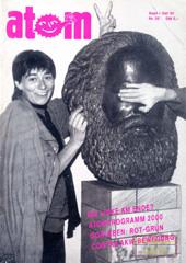 Atom, Nr. 36, September 1991: Atom intern, neue Energiedebatte, Hanau, KfK Karlsruhe, Die Linke am Ende?