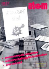 Atom, Nr. 39, Sommer 1992; Renaissance der Atomenergie; Atommonopoly Osteuropa; Gorleben; Schacht Konrad; Neues Atomgesetz?; Weltwirtschaftsgipfel