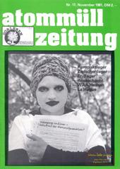 Atommuellzeitung 17, November 1981