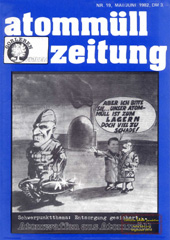 Atommuellzeitung 19, Mai/Juni 1982