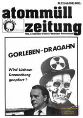 Atommuellzeitung 22, Februar 1983