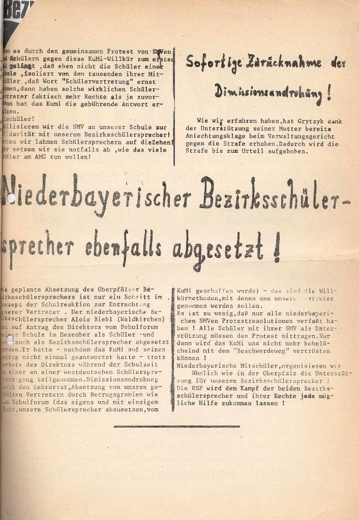 Roter Weg _ Organ der Roten Schülerfront, Extra, Jan. 1973, Seite 3