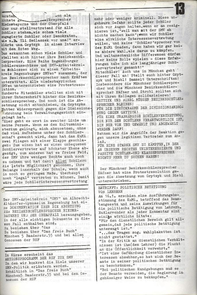 Roter Weg _ Organ der Roten Schülerfront, Nr.4, 1973, Seite 13