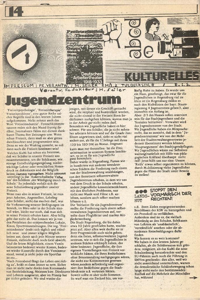 Roter Weg _ Organ der Roten Schülerfront, o. O., o. J., Seite 14