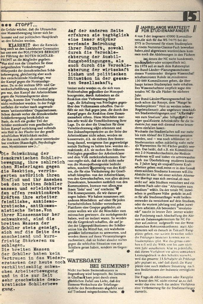 Roter Weg _ Organ der Roten Schülerfront, o. O., o. J., Seite 15