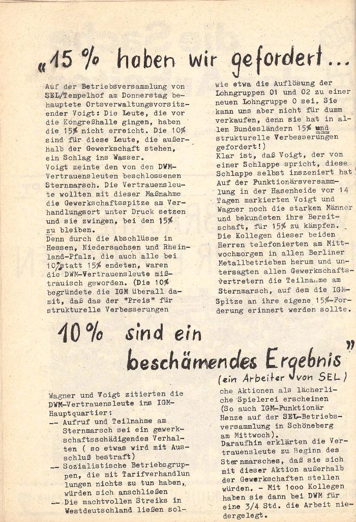 Die Sache der Arbeiter, Nr. 5, Aug./Sept. 1970, Seite 2