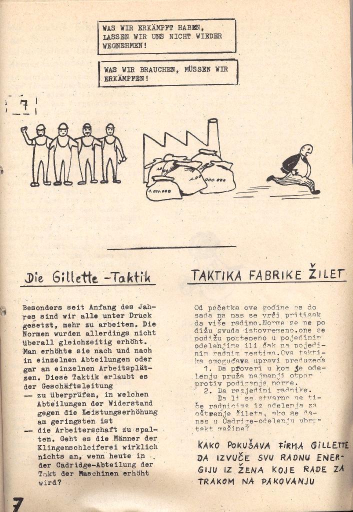 Die Sache der Arbeiter, Nr. 5, Aug./Sept. 1970, Seite 7