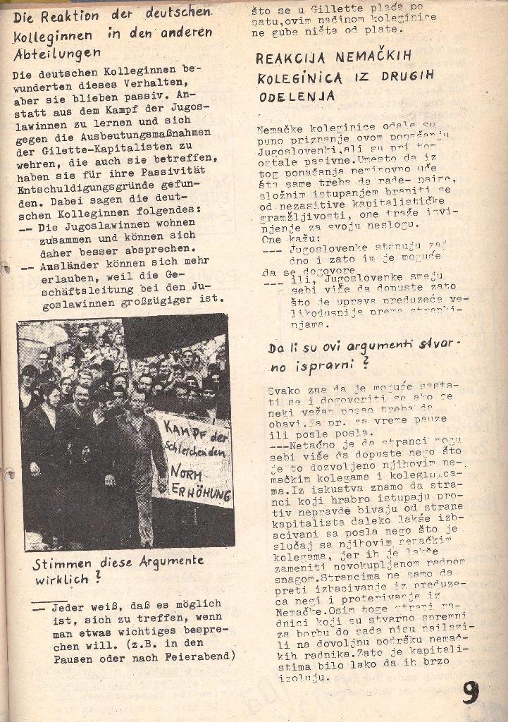 Die Sache der Arbeiter, Nr. 5, Aug./Sept. 1970, Seite 9