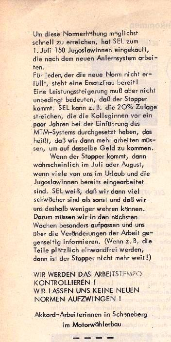 Ausschnitt aus: Die Sache der Arbeiter, Nr. 4, Juni/Juli 1970, Seite 10