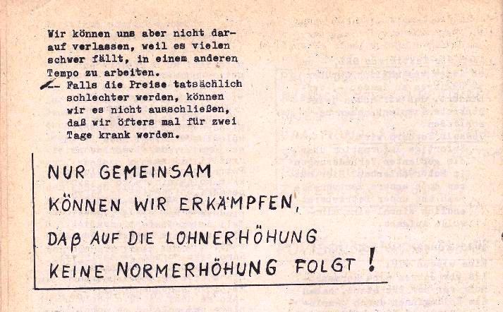 Ausschnitt aus: Die Sache der Arbeiter, Nr. 5, Aug./Sept. 1970, Seite 12