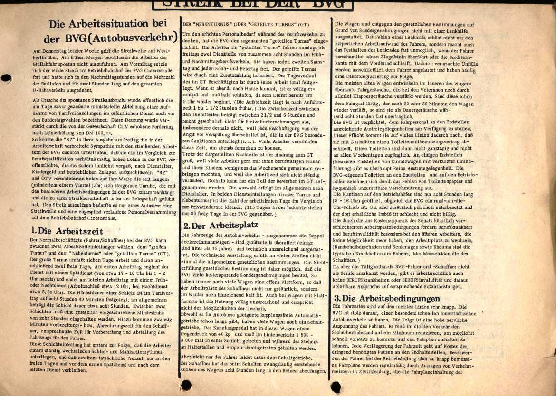 Arbeiterpresse, hg. von der Arbeiterkonferenz, Redaktion: BVG_Betriebsgruppe (Vorderseite, unten)