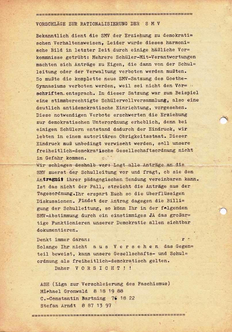 Nachrichtenblatt, Nr. 4, Berlin, 1968, Seite 2
