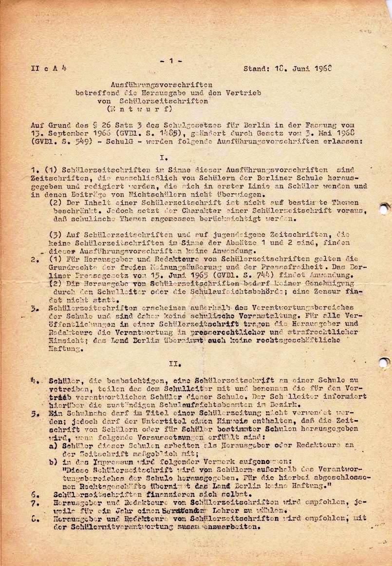 Nachrichtenblatt, Nr. 5, Berlin, 1968, Seite 2
