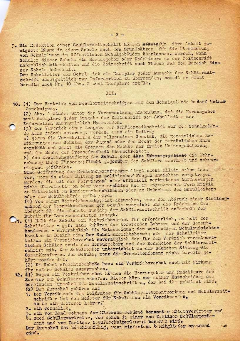 Nachrichtenblatt, Nr. 5, Berlin, 1968, Seite 3