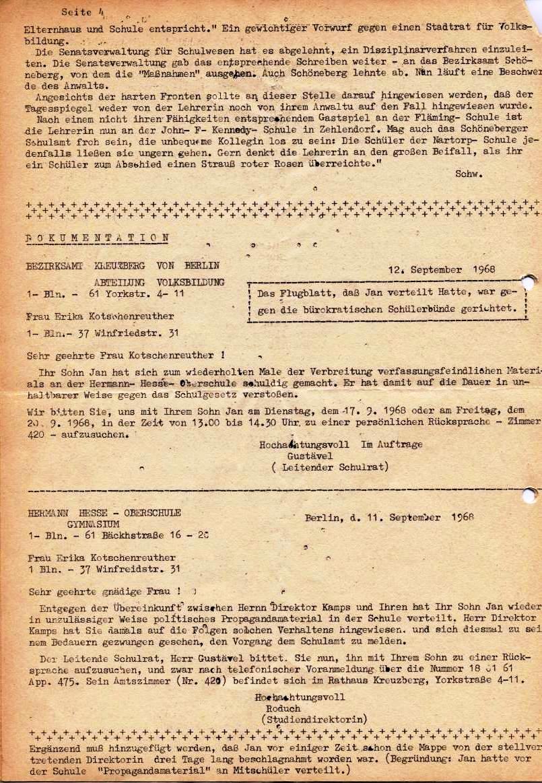 Nachrichtenblatt, Nr. 6, Berlin, 1968, Seite 4