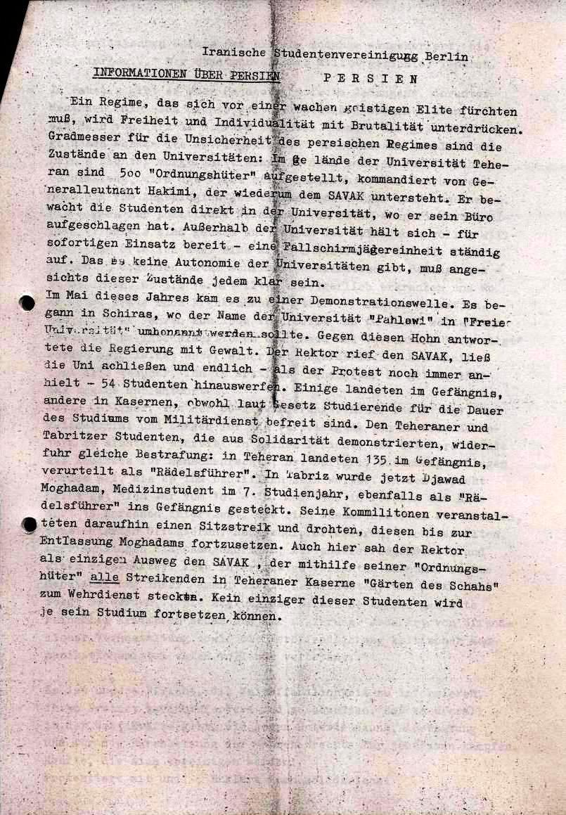 Nachrichtenblatt, Nr. 12, Berlin, 1968, Seite 3