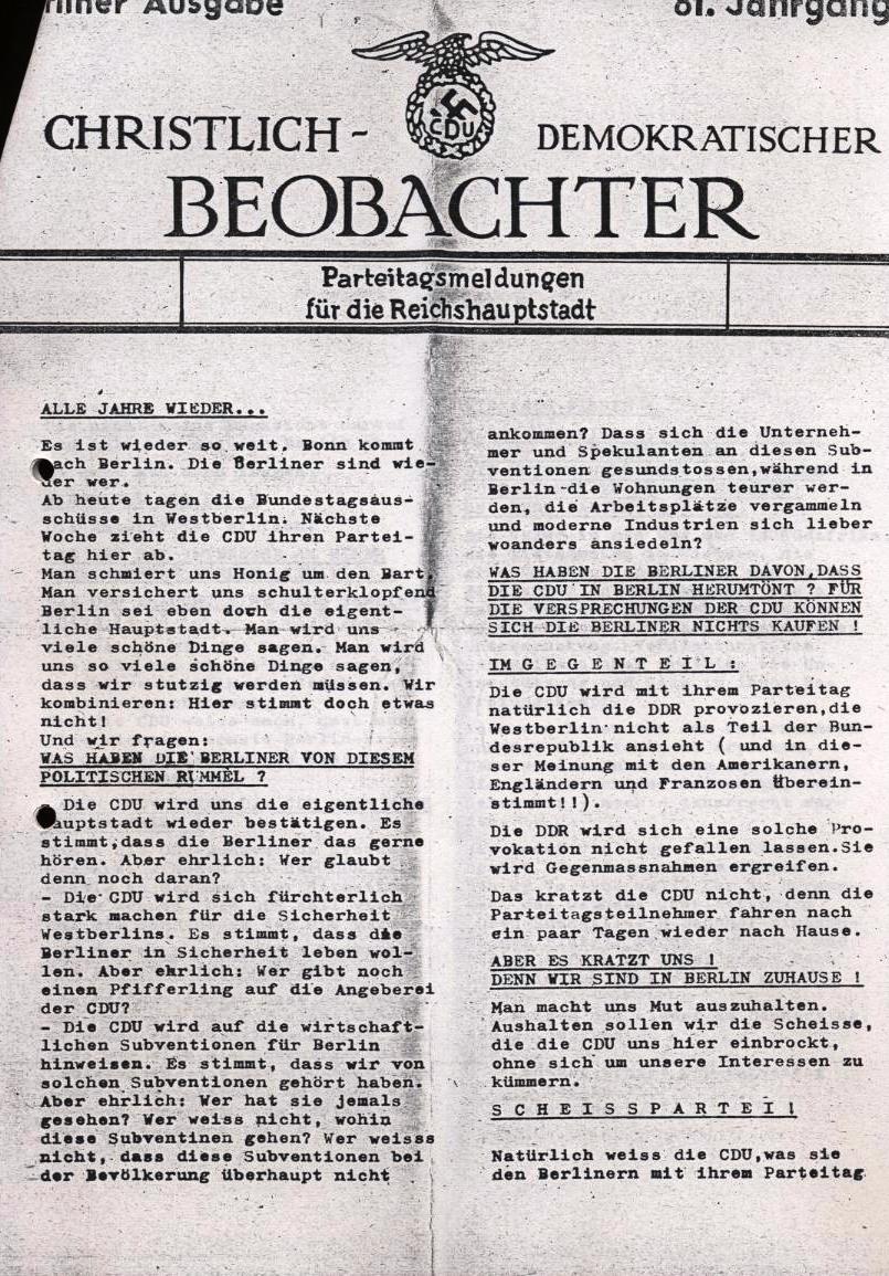 Nachrichtenblatt, Nr. 12, Berlin, 1968, Seite 5