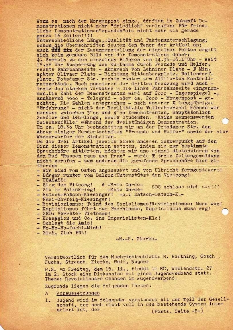 Nachrichtenblatt, Nr. 13, Berlin, 1968, Seite 3