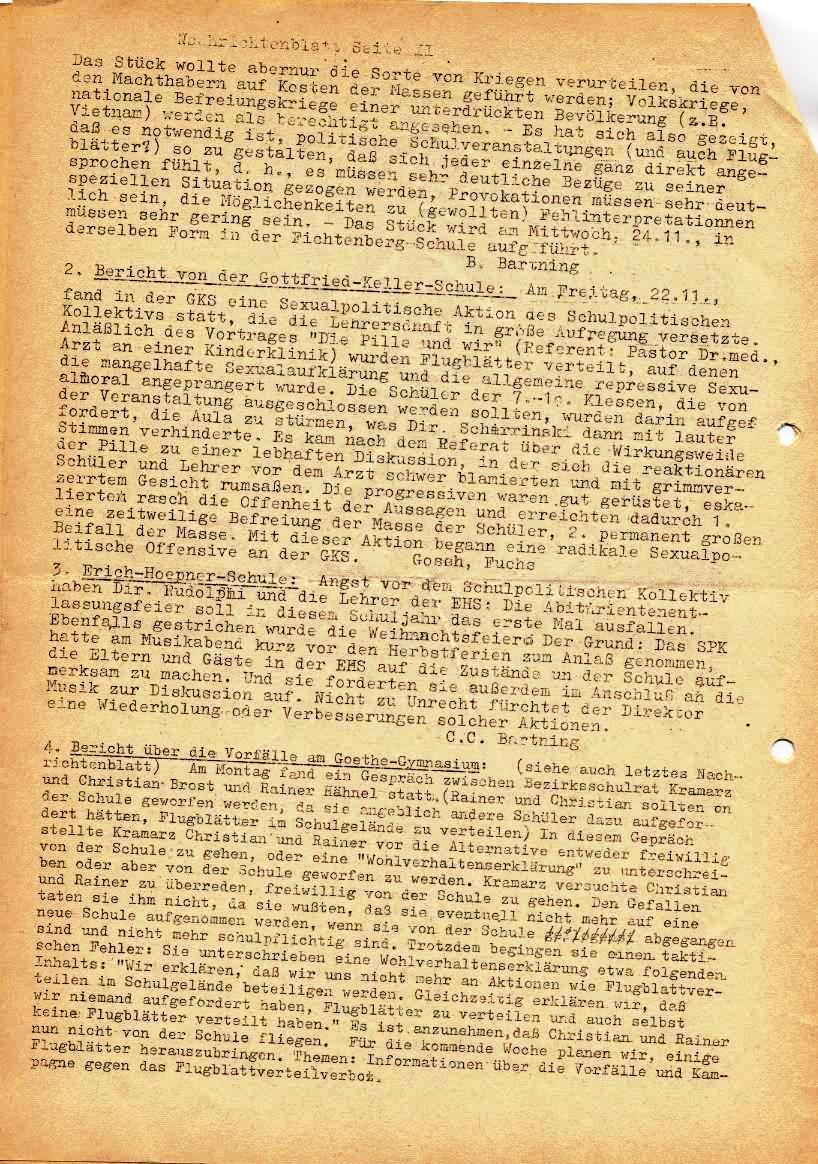 Nachrichtenblatt, Nr. 15, Berlin, 1968, Seite 2