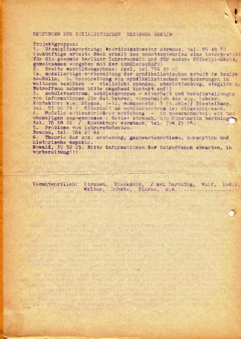 Nachrichtenblatt, Nr. 16, Berlin, 1968, Seite 4