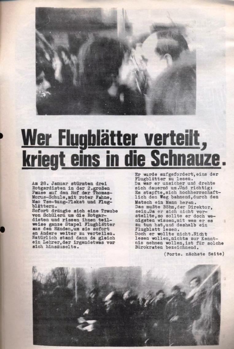 Zeitung der Roten Garde Berlin, Nr. 1/1969, S. 3