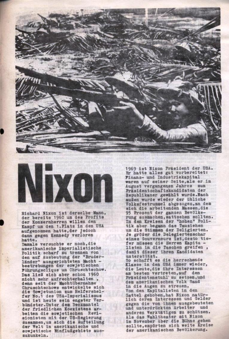 Zeitung der Roten Garde Berlin, Nr. 1/1969, S. 5