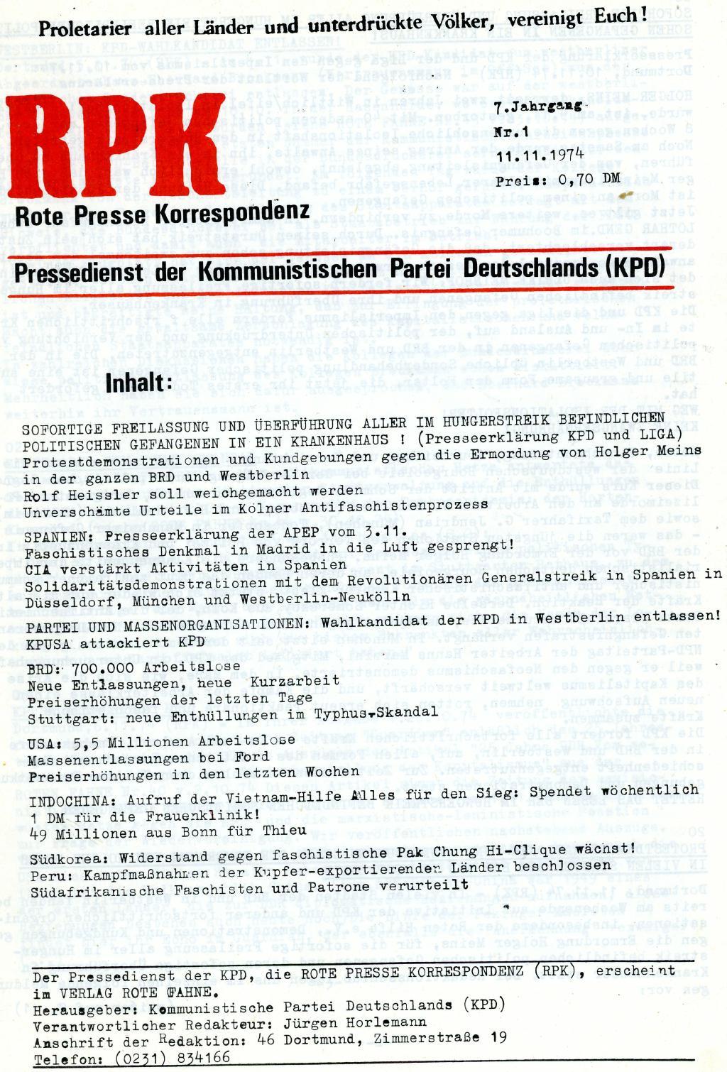 RPK_Pressedienst_1974_01_01