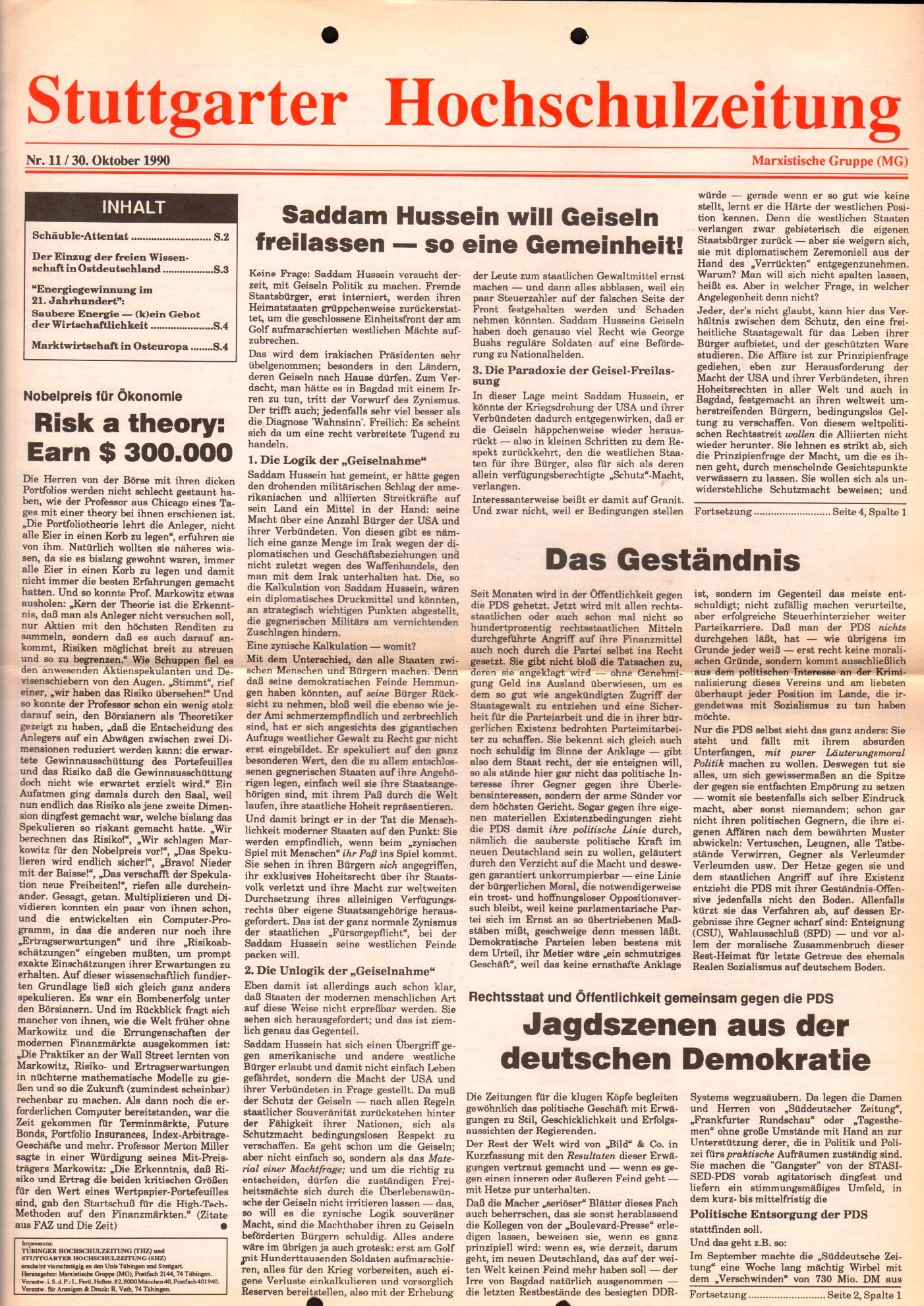 Stuttgart_MG_Hochschulzeitung_1990_11_01