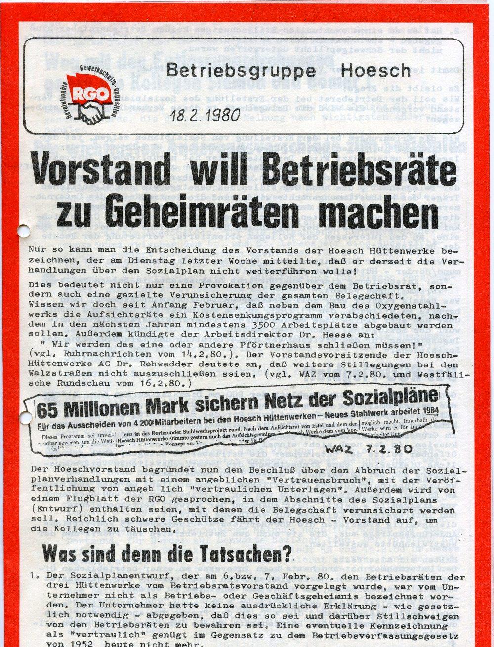 BG_Hoesch_RGO_Flugblatt_1980_01