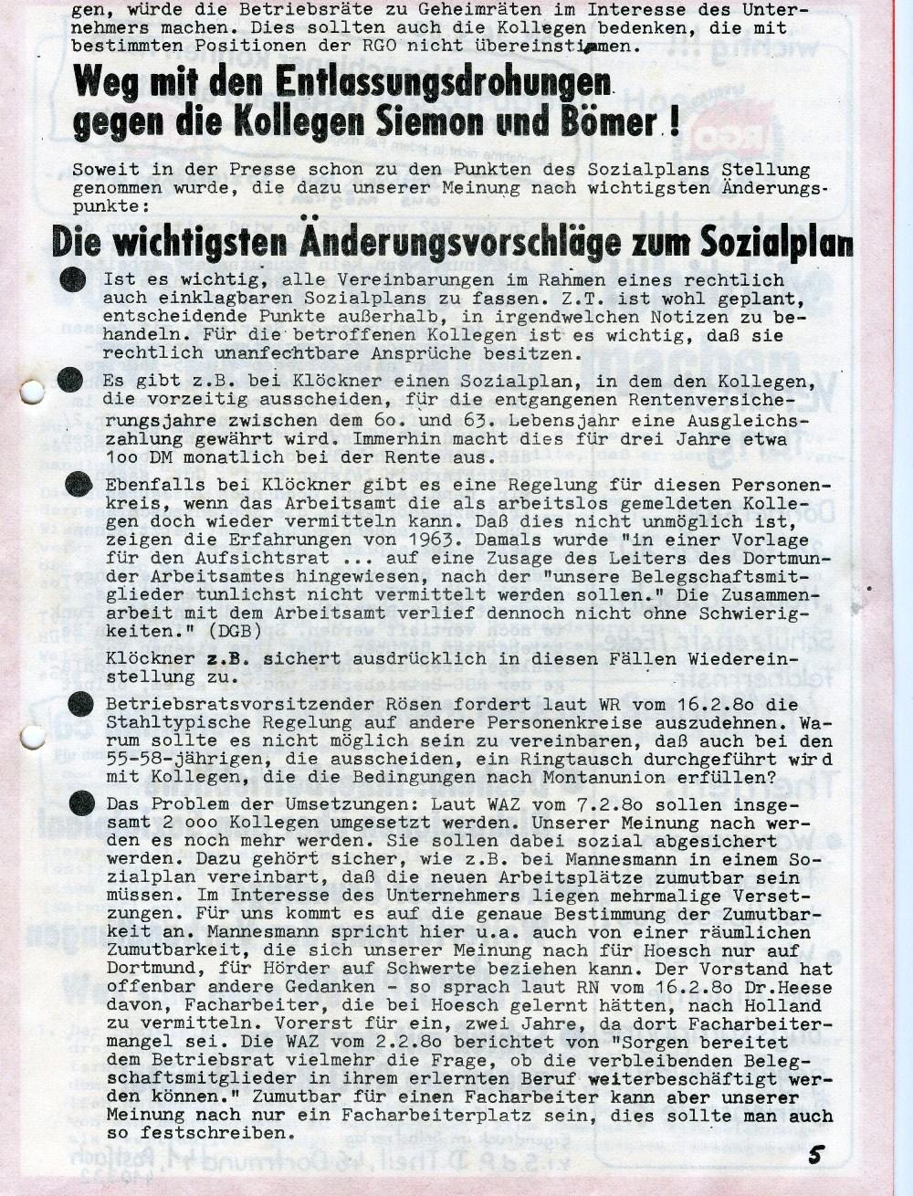 BG_Hoesch_RGO_Flugblatt_1980_05