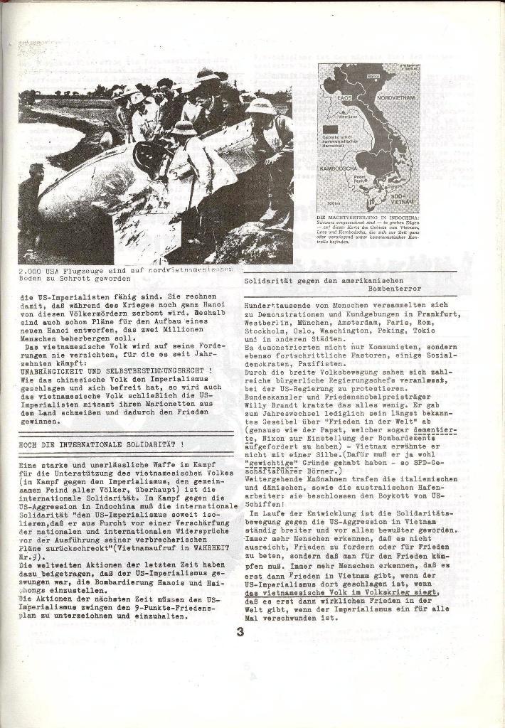 Schulkampf _ Zeitung des KOB, Nr. 1/73, Seite 3