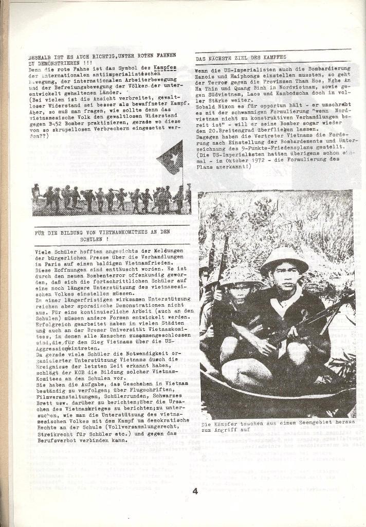 Schulkampf _ Zeitung des KOB, Nr. 1/73, Seite 4