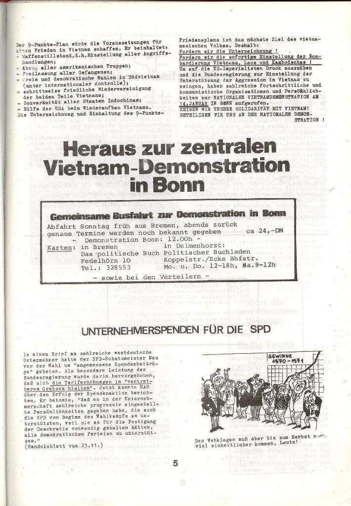 Schulkampf _ Zeitung des KOB, Nr. 1/73, Seite 5