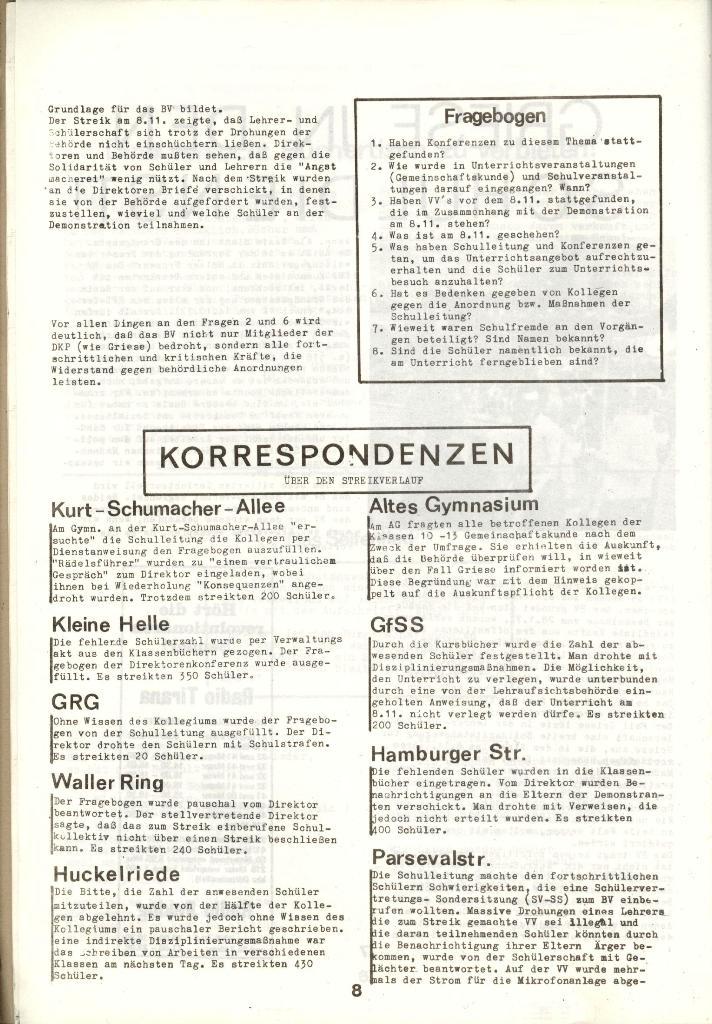Schulkampf _ Zeitung des KOB, Nr. 1/73, Seite 8