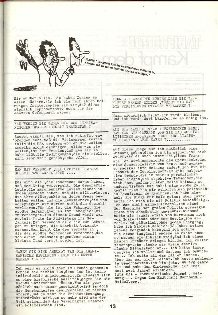Schulkampf _ Zeitung des KOB, Nr. 1/73, Seite 13