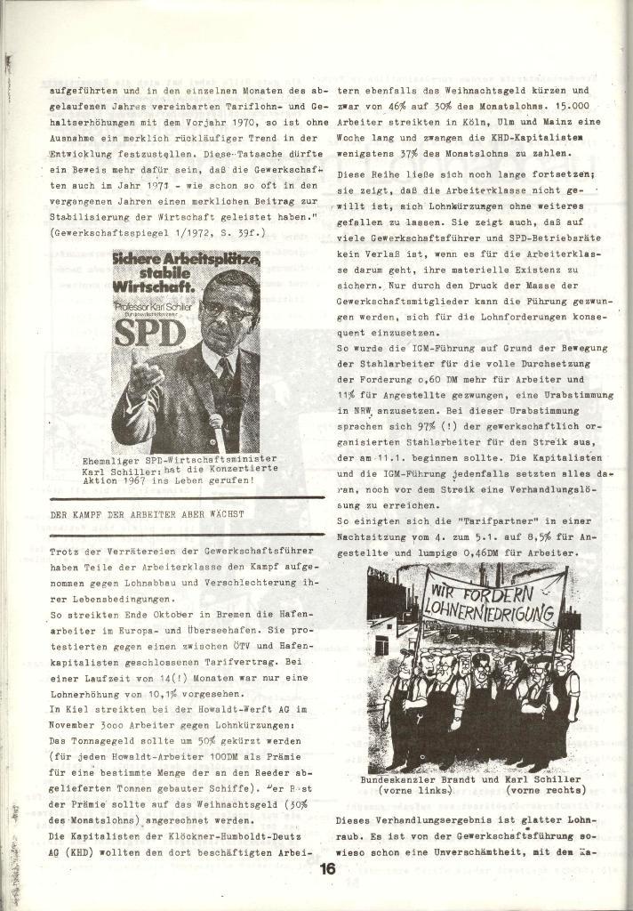Schulkampf _ Zeitung des KOB, Nr. 1/73, Seite 16