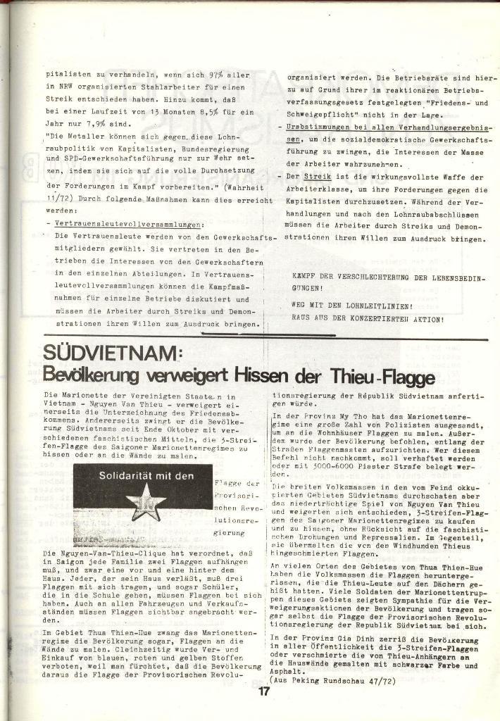 Schulkampf _ Zeitung des KOB, Nr. 1/73, Seite 17