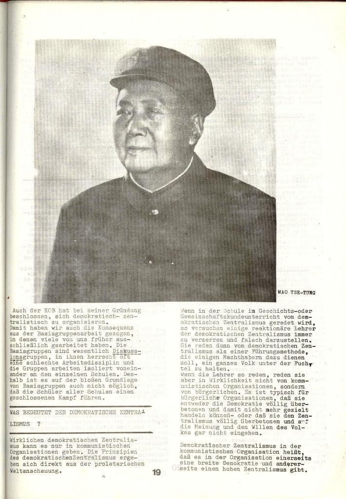 Schulkampf _ Zeitung des KOB, Nr. 1/73, Seite 19