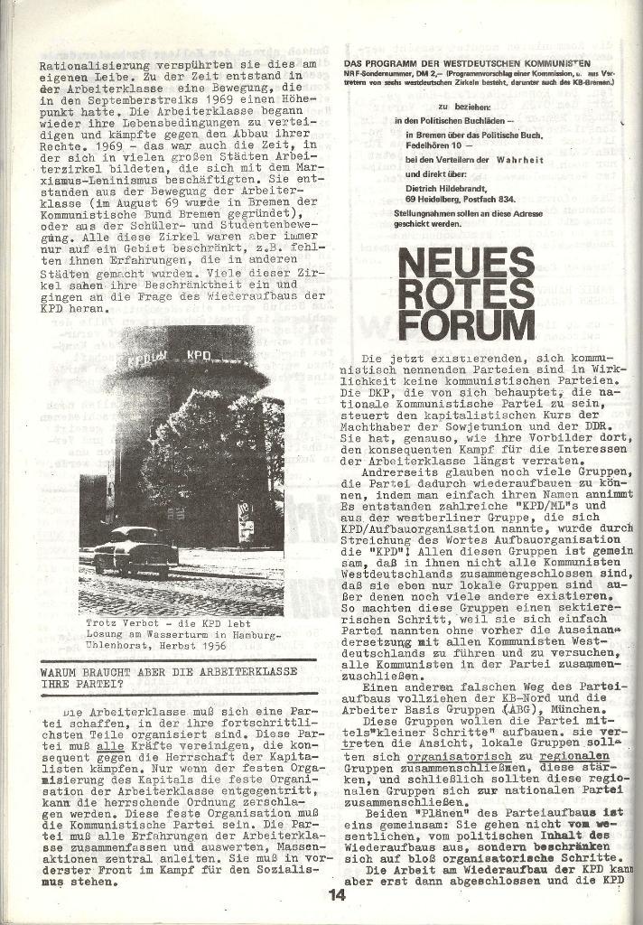 Schulkampf _ Zeitung des KOB, Nr. 3/73, Seite 14