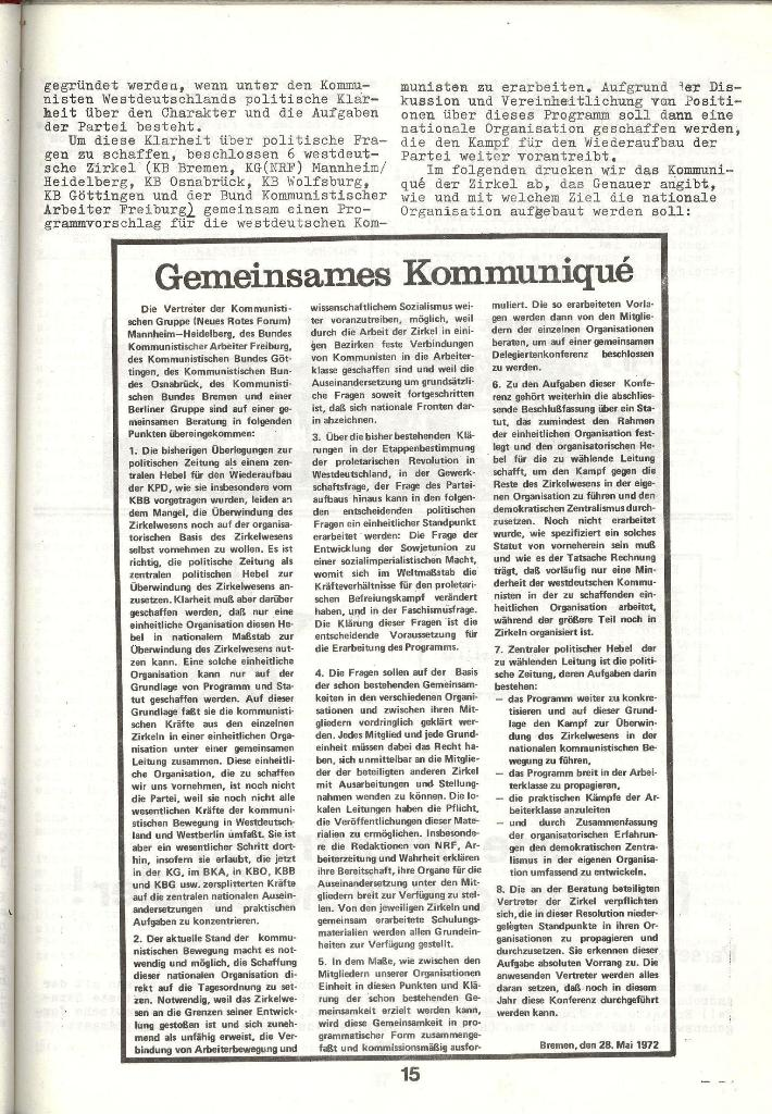 Schulkampf _ Zeitung des KOB, Nr. 3/73, Seite 15